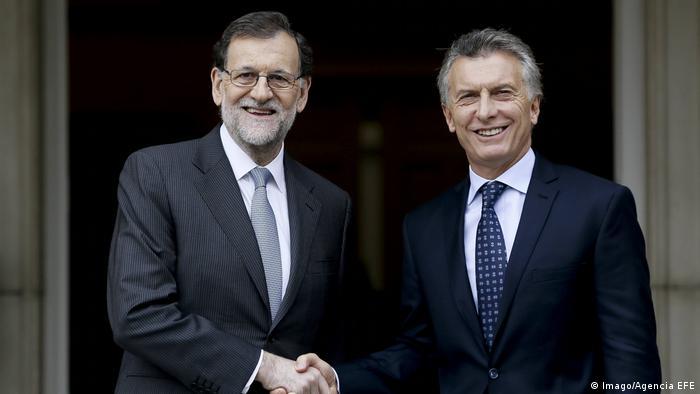 Mariano Rajoy y Mauricio Macri. (23.02.2017).