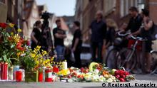 Flowers and candles at the scene of Münster attack (Reuters/L. Kuegeler)