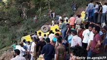 Indien - Busunglück in Nurpur