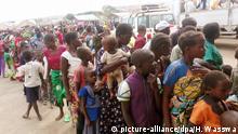 Afrika - Kongolesische Flüchtlinge in Uganda