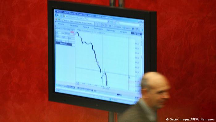 Bolsa de Moscú se desploman por nuevas sanciones de EE. UU.