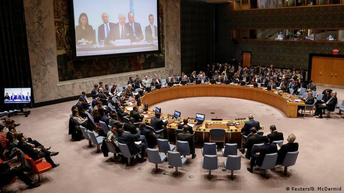 USA Sitzung des UN-Sicherheitsrats in New York