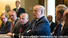 USA Präsident Donald Trump im Weißen Haus in Washington (picture-alliance/CNP/MediaPunch/J. LoScalzo)