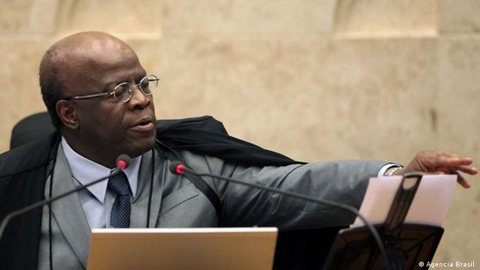 Brasilien Jurist und ehemaliger Richter Joaquim Barbosa