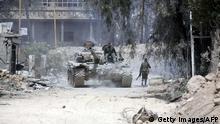 Syrien Duma Armee-Panzer