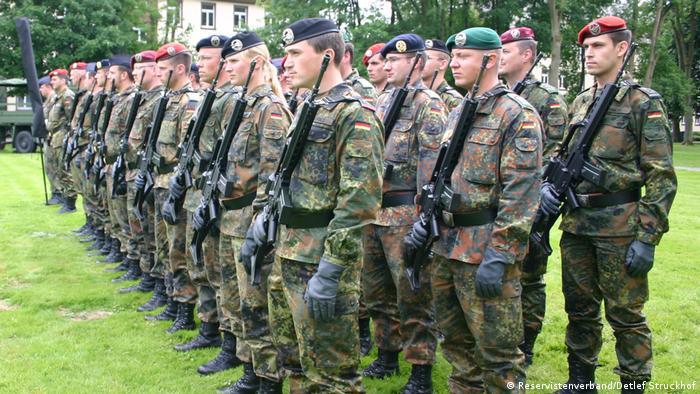 German army recruits
