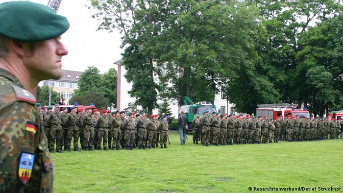 Солдаты бундсвера (фото из архива)