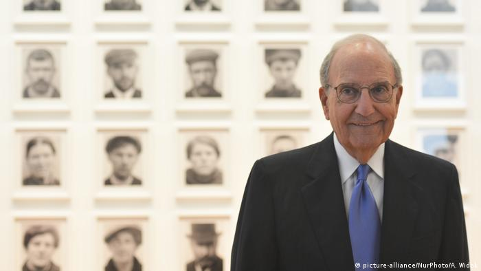 US Senator George Mitchell in Dublin