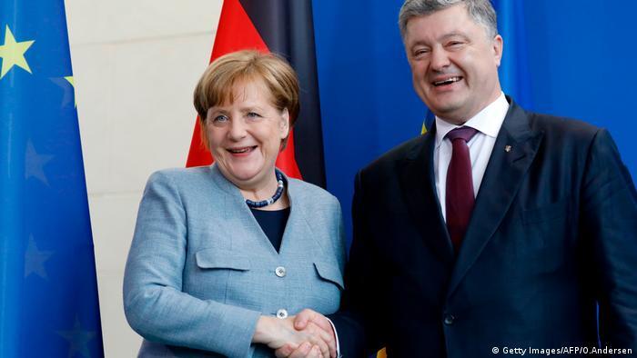 Merkel i Porošenko