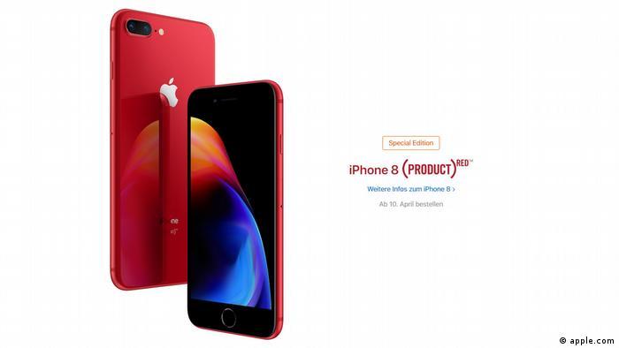 Apple Iphone8 Red (apple.com)