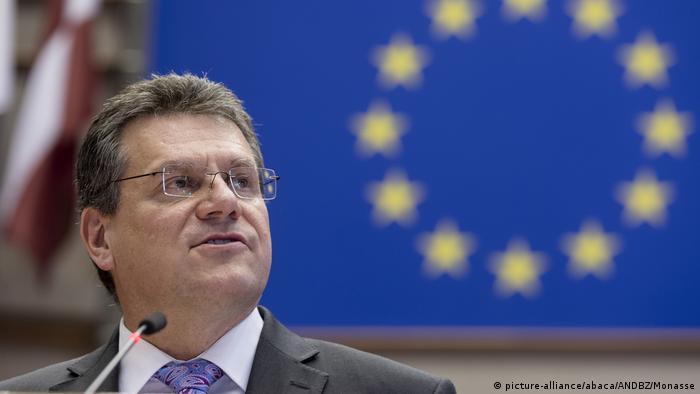 EU Energy Union Commissioner Maros Sefcovic
