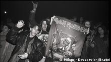 Konzert Iron Maiden Sängers Bruce Dickinson am 14.12.1994 in Sarajevo