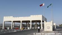Grenzgebiert Saudi Arabien Katar