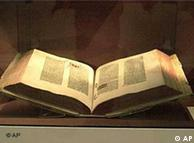 La Biblia de Gutenberg.