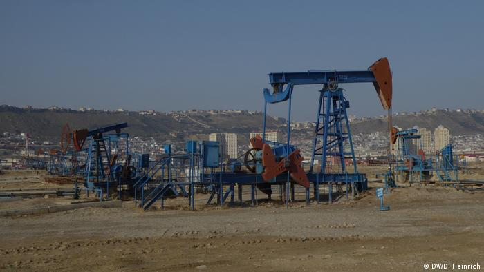 Oil field in Azerbaijan