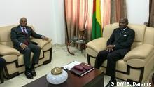 Guinea-Bissau Jean-Claude Kassi Brou und José Mário Vaz