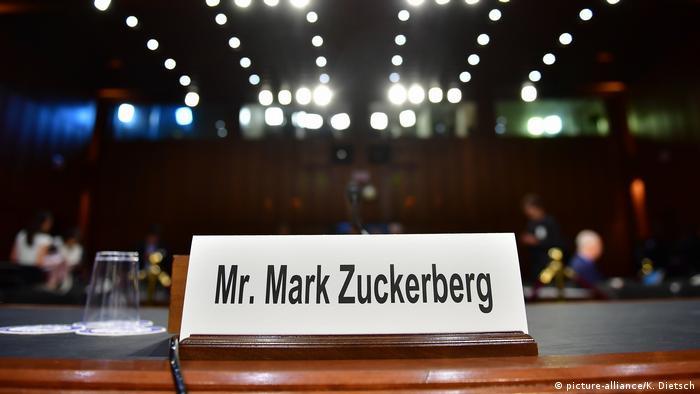 USA: Zuckerberg spricht vor dem US Kongress in Washington