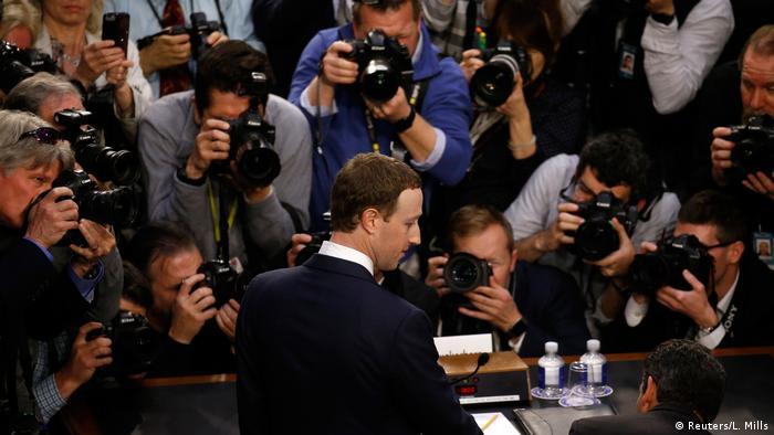 USA Facebook-Chef Zuckerberg sagt vor Handelsausschuss des Repräsentantenhauses zu Skandal um Missbrauch von privaten Nutzerdaten aus (Reuters/L. Mills)