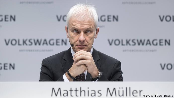 Deutschland VW Matthias Müller (imago/IPON/S. Boness)