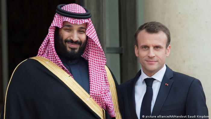 Frankreich und Saudi Arabien schließen Wirtschaftsabkommen in Milliardenhöhe | Macron und Mohammed bin Salman
