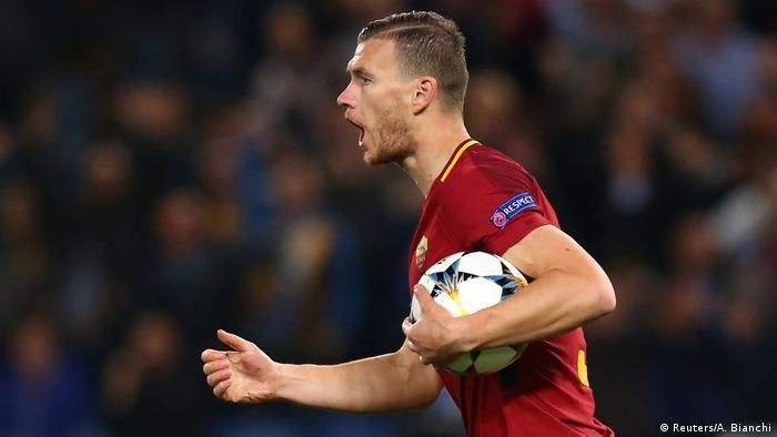 Champions-League AS Roma vs FC Barcelona (Reuters/A. Bianchi)