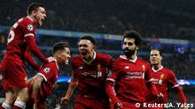 Champions-League Manchester City vs Liverpool