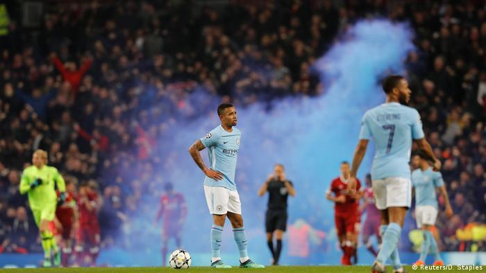 Champions-League Manchester City vs Liverpool