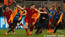 Champions-League AS Roma vs FC Barcelona
