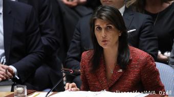 ABD'nin BM nezdindeki daimi temsilcisi Nikki Haley