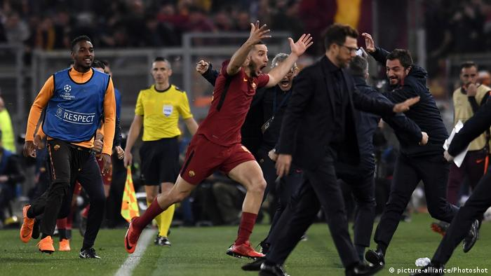 UEFA Champions League Roma - Barcelona (picture-alliance/Photoshot)