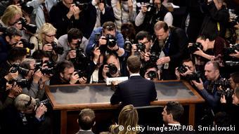 Цукерберга в Конгрессе США
