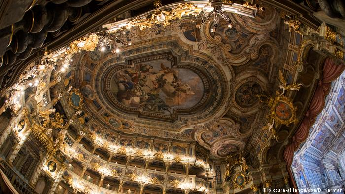 Bayreuth S Baroque Jewel The Margravial Opera House All