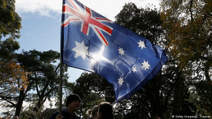 Australien Demo gegen Rassismus (Getty Images/D. Traynor)