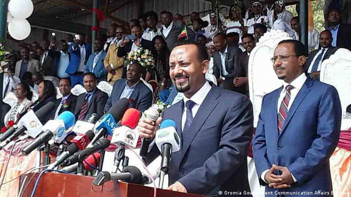 Äthiopien Premierminister Dr. Abiy Ahmed (Oromia Government Communication Affairs Bureau)