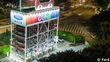 Auto-Automat von Ford in Guangzhou, China NUR ZUR REDAKTIONELLEN BERICHTERSTATTUNG ÜBER DEN FORD-AUTOMATEN