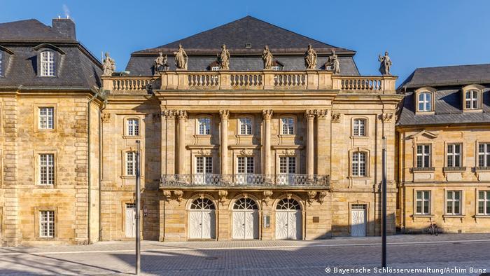 Markgräfliches Opernhaus Bayreuth, Fassade (Bayerische Schlösserverwaltung/Achim Bunz)