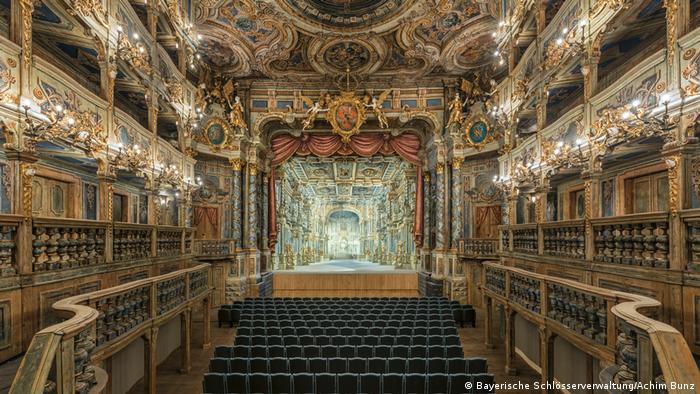 Markgräfliches Opernhaus Bayreuth nach der Restaurierung (Bayerische Schlösserverwaltung/Achim Bunz)