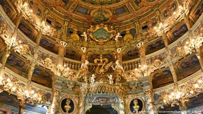 Bayreuth, Markgräfliches Opernhaus, Innenansicht nach der Restaurierung (Bayerische Schlösserverwaltung/Heiko Oehme)