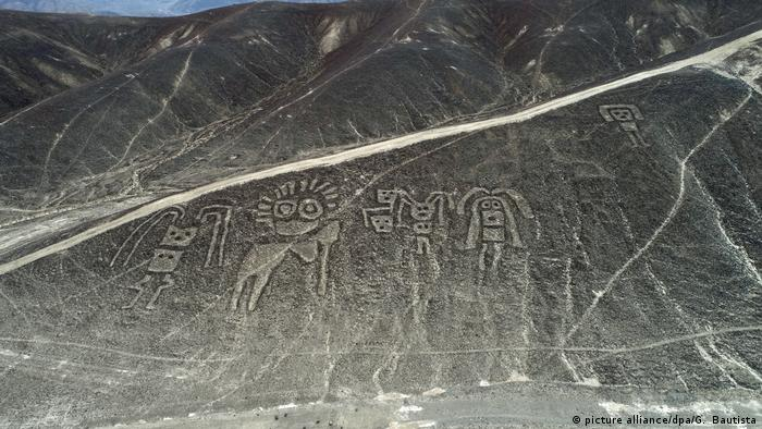 Mysterious Geoglyphs Discovered In Peru All Media Content Dw