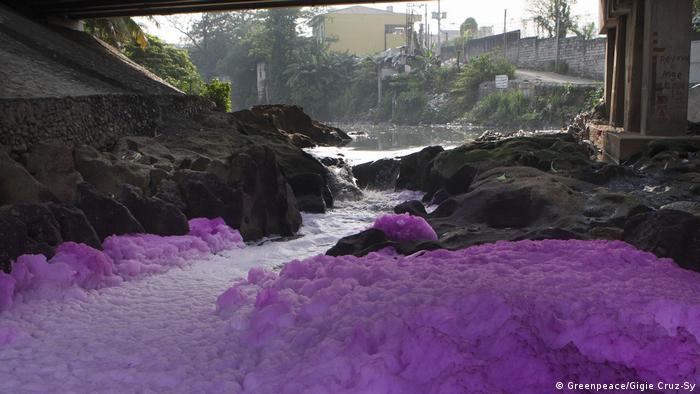 Philippinen Umweltverschmutzung Tullahan (Greenpeace/Gigie Cruz-Sy)