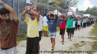 Manus Island refugees |