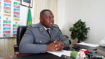Mosambik Nampula | Zacarias Nacute, Polizeisprecher