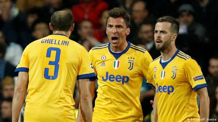 Champions League Real Madrid vs Juventus Turin | Mandzukic Jubel (Reuters/P. Hanna)