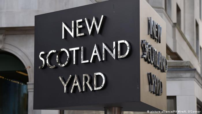 New Scotland Yard sign (picture-alliance/PA Wire/K. O'Connor)