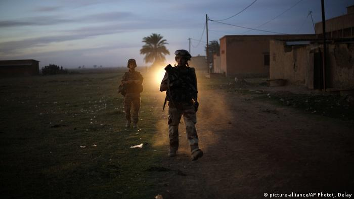 Serdadu Perancis di Afrika.