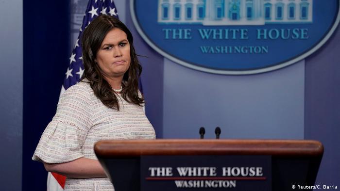 USA Washington Pressekonferenz Sarah Sanders