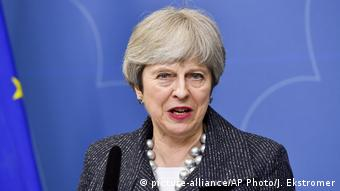 Theresa May (picture-alliance/AP Photo/J. Ekstromer)