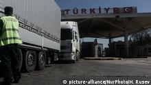 A checkpoint on the Bulgarian-Turkish border (picture-alliance/NurPhoto/H. Rusev)