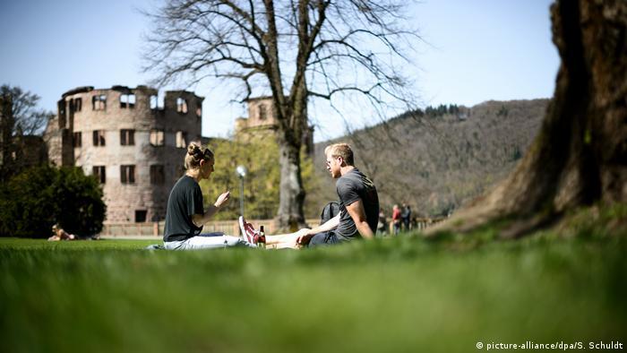 BdT Schlossgarten Heidelberg (picture-alliance/dpa/S. Schuldt)