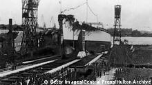Schlachtschiff Tirpitz (Getty Images/Central Press/Hulton Archive)